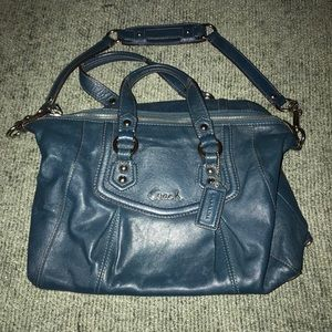 Coach Vintage Ashley Satchel Forrest Green